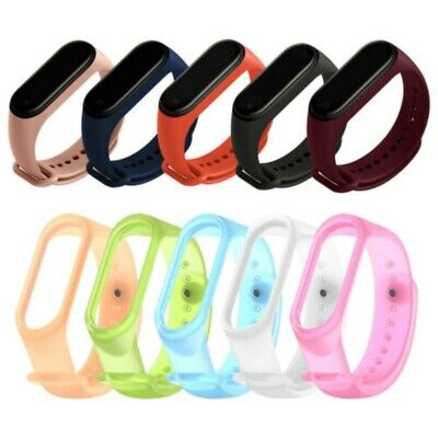 $1.14 • Buy For Xiaomi MI Band 4 3 Strap Replacement Bracelet Silicone Wristband Watch Band