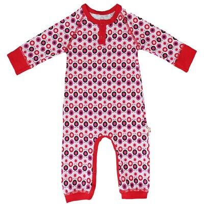 Stunning Apple Bodysuit By Katvig Sizes O-12 Mnths - 2 Colours Black Or Red • 17.50£