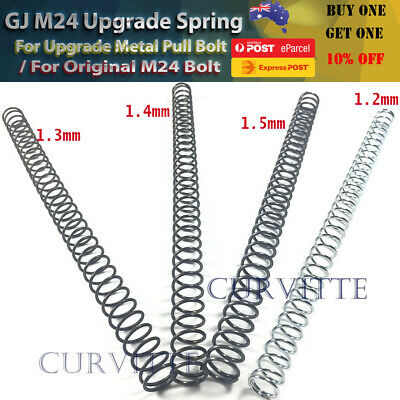 AU12.72 • Buy Gj M24 Awm Upgrade 1.3 1.4mm Spring For Gel Blaster Toy Sniper Increase Power Au