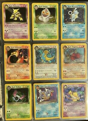 AU49 • Buy Pokemon WOTC Rocket Set Individual Cards - Pick From List From $1!! FREE POSTAGE