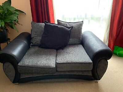 Second Hand Grey Two Seater Sofa • 160£