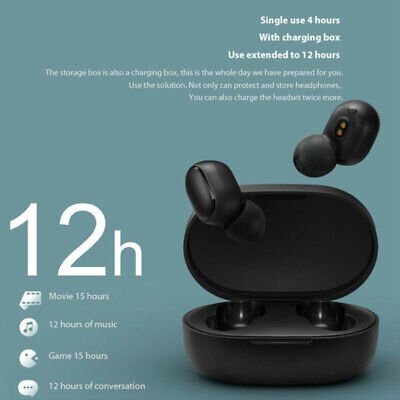 $17.58 • Buy For Xiaomi/Redmi Airdots Earphone Headset Bluetooth 5.0 Stereo Earbuds Headphone