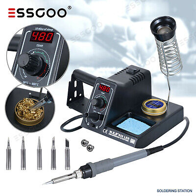 £27.22 • Buy WEP 60W 220V Soldering Iron Kit Station Variable Stand Temperature Digital LED