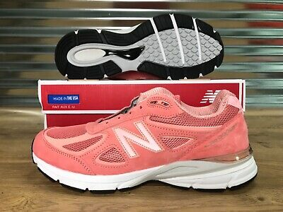 $110.49 • Buy New Balance 990V4 M990SR4 Shoes Sunrise Rose Gold Coral SZ NEW WITH BOX!!