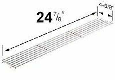 $ CDN50.72 • Buy BBQ Grill Weber Grill Grate  Nickel/Chrome Plated Warming Rack 24 7/8  X 4 X 5/8