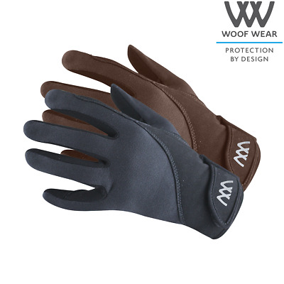 £32 • Buy Woof Wear PRECISION THERMAL GLOVE Black, Navy Or Brown Riding Gloves