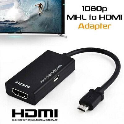 $ CDN8.64 • Buy Micro USB To HDMI Adapter Connect Cable For Android Phone Smartphone Tablet TV