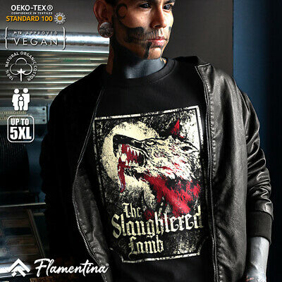 Slaughtered Lamb T-Shirt Horror Shapeshift American Pub In London Curse D282 • 9.99£