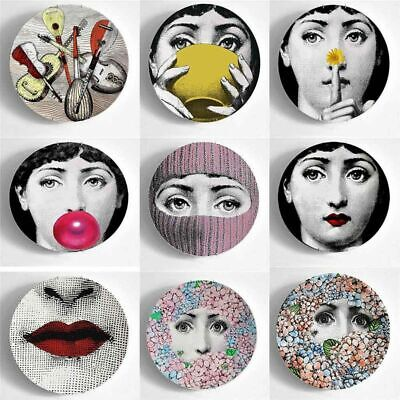 $30.03 • Buy 8 Inch Fornasetti Plate Decorative Wall Hanging Retro Design Background Art Home