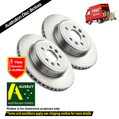 AU124 • Buy FOR MITSUBISHI OUTLANDER ZG ZH Thick 24mm 10/06-10/12 FRONT Disc Brake Rotor (2)
