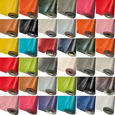 Heavy Leatherette Vinyl Upholstery Fabric Fire Retardant Faux Leather 140cm Wide • 8.98£