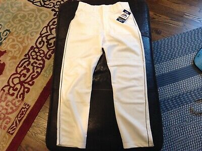 $41.39 • Buy NWT Majestic Authentic Cool Base MLB Baseball Pants White With Black Piping SZ S