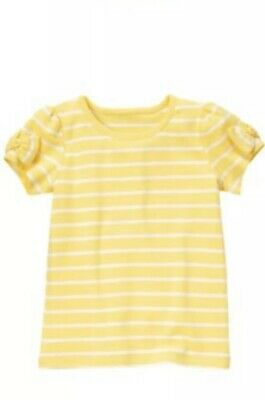 $8.99 • Buy Nwot Gymboree Bee Chic Yellow Top Size 8 Summer Vacation Fun Bts Striped