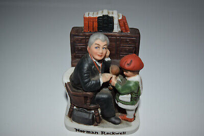 $ CDN25.51 • Buy Norman Rockwell 1979 Japanese Made Ceramic Figurines  Doctor And Child  NR-212