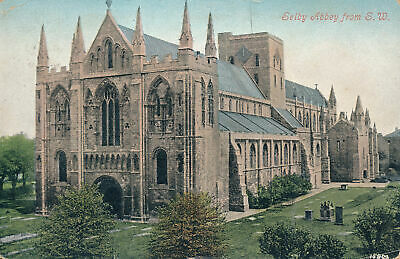 PC69573 Selby Abbey From S. W. Valentine. 1906 • 6.75£