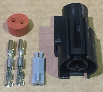 £7.25 • Buy 2 Pin Ford Fan Switch Connector, Fits Sierra Cosworth Zetec Focus & Other Fords.
