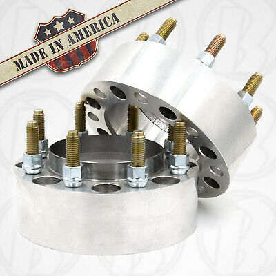 $453.06 • Buy 8x6.5 Hub Centric Wheel Spacer 4  Thick | Steel Ring | 124.9 Ford | 2pc USA