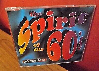 TIME LIFE CD SPIRIT OF THE 60s  RARE TL531/31 20 FAB HITS. • 85£