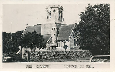 PC78270 The Church. Hopton On Sea. 1957 • 6.75£