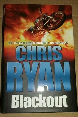 Blackout By Chris Ryan (SIGNED 1st Edition Hardback, 2005 With Dust Jacket) • 8.49£