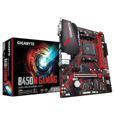 AU135 • Buy Gigabyte B450M GAMING AMD Ryzen AM4 MATX Gaming Motherboard 4x DDR4 M.2 RGB LED