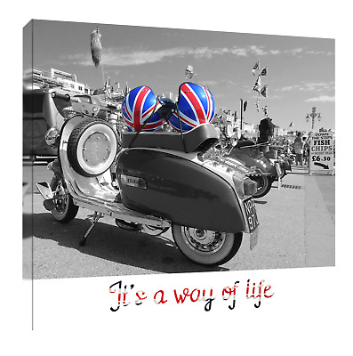 Mod  (2) Print Or Canvas. Example Shown 10  Framed Print, ONLY £21.50  • 34.50£
