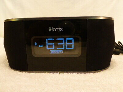 AU38.03 • Buy IHome IBT38 Dual Charge Alarm Clock Radio Dock For Apple UBS IPhone NO ADAPTER