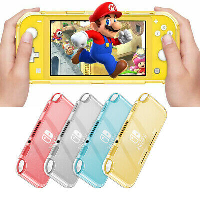 For Nintendo Switch Lite 2019 Grip Case Soft TPU Frosted Translucent Cover • 7.59$