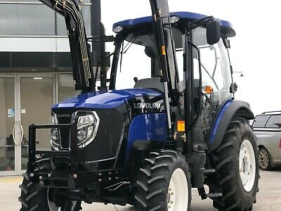 AU32990 • Buy Lovol M604 60hp Tractor, Front End Loader, Syncro Gearbox, Aircon Cabin + More