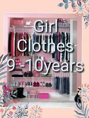 Girl Clothes Make Your Own Bundle Size 9-10 Years Dress Jeans Leggings Blouses • 2.99£