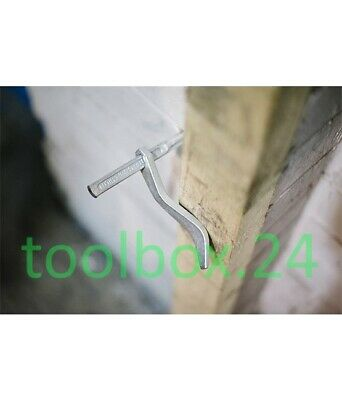 Genuine FOOTPRINT Dutch Pins - Masons Clamps / Plasterers Pegs For Brick & Block • 15.99£