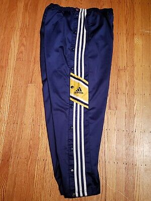 $ CDN35 • Buy Vintage Adidas Tear Away Pants Size Lg