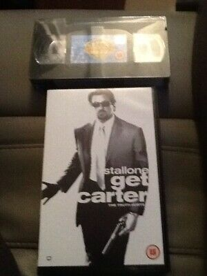 Get Carter - Sealed Big Box Vhs 100s More Pre Cert Vhs In My Shop • 12.99£