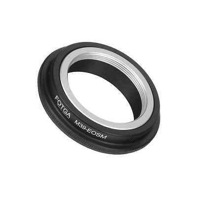 $13.68 • Buy (US) Fotga Leica M39 L39 Mount Lens To Canon EOS M M2 EF-M Camera Adapter