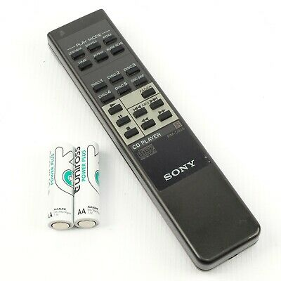 SONY RM-D306 Genuine Remote Control | CD Player | FREE Alkaline Batteries • 11.95£