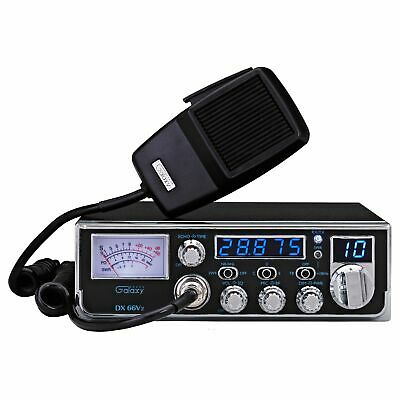 $ CDN342.58 • Buy Galaxy Dx66v2 Mid-size Am 10 Meter Radio With 5 Digit Frequency Counter