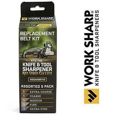 Belt Kit Official Replacement For The Work Sharp Knife And Tool Sharpener • 19.17$