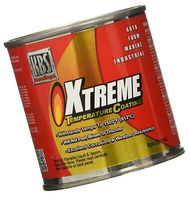 AU40.50 • Buy KBS Coatings 65225 Charcoal Metallic Xtreme Temperature Coating - 8 Fl. Oz.
