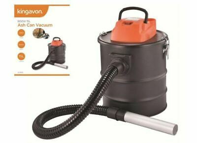 800w 15l Fire Coal Ash Can Vacuum Cleaner Tin Shape • 43.99£