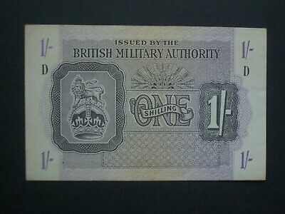£14.95 • Buy **Nice 'GVF'+ **British Military Authority Issue 'D' 1s Banknote******