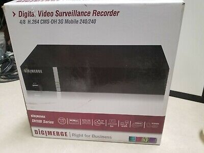$99.95 • Buy Digimerge DH104501 4CH H.264 DVR W/3G Mobile And MAC Compatible, 500GB
