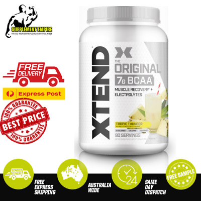 AU83.69 • Buy Scivation Xtend Original BCAA Amino Acids Recovery 30 Or 90 Servings