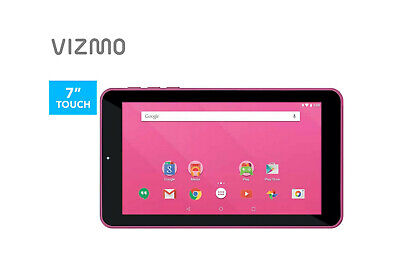 AU54.99 • Buy 7  ANDROID 8.1 GO EDITION TABLET PC QUAD CORE 16GB BLUETOOTH & WiFi PINK KIDS