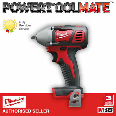 £92.99 • Buy Milwaukee M18BIW38-0 M18 18v Compact 3/8In Impact Wrench Bare Unit