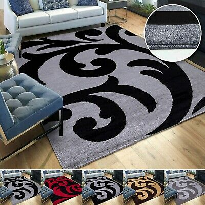 Large Rugs Living Room Carpet Mat Rug Runner Non Slip Modern Bedroom Carpets New • 13.99£