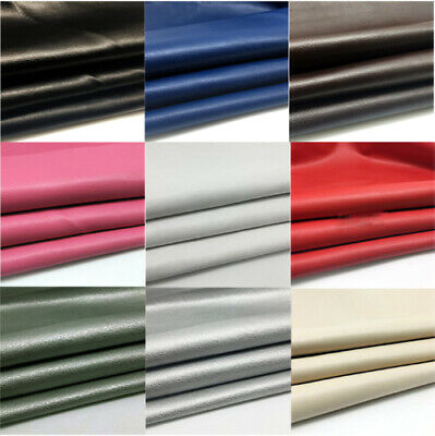 £7.95 • Buy Pvc Faux Leather Fabric Vinyl Upholstery Leatherette Cloth Material