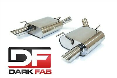 $249 • Buy Darkfab Ford Mustang GT 05-09 Stainless Steel 2.5  Axleback Exhaust 4.6L 5.4L V8