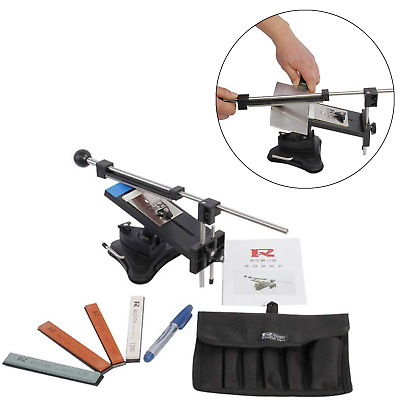 $51.18 • Buy Professional Knife Sharpener System Kitchen Tools Fix-angle 4 Stone Kit Blade US