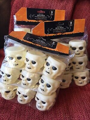 $14.99 • Buy Lot 27 Halloween Skeleton Skull Candy Containers Party Favors Trinkets Plastic