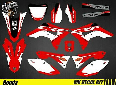 Kit Déco Moto Pour / Mx Decal Kit For Honda CRF - Red • 120.33£